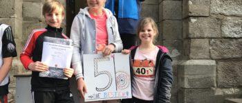 Alteburg-Lauf - Schüler und Lehrer kaum zu bremsen