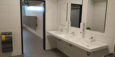 Sanierung der Toiletten - 1.Teil ist vollendet