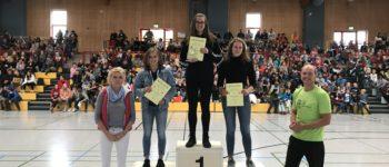 Jasmin und Oskar gewinnen die Gesamtwertung beim Sportfest 2019