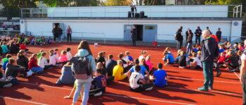 Leichtathletiksportfest für unsere Jüngsten