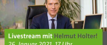 26.01.2021, 17:00 Uhr - Livestream mit Minister Helmut Holter